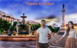 Rossio In Lisbon