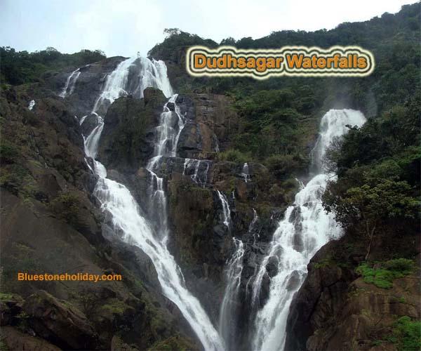 dudhsagar falls, dudhsagar waterfalls, dudhsagar waterfalls ponda, dudhsagar waterfalls goa, dudhsagar waterfalls photo, goa to dudhsagar waterfalls, how to reach dudhsagar waterfalls,