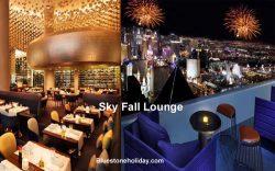 sky fall lounge, skyfall lounge, skyfall lounge las vegas,